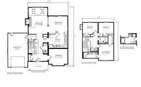 Split Level Floor Plan Comfort Homes