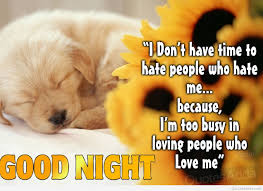 Love Good Night Quotes by Good Night Fb Quote