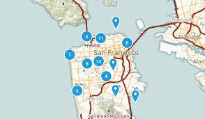san francisco map my run best trails near san francisco california 1672 photos 2217