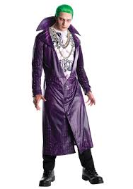 spirit halloween costumes for men deluxe joker squad costume for men