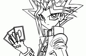 yugioh coloring pages colorings