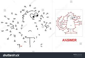 mouse dot game connect all dots stock vector 430290703 shutterstock