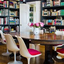 antique table with modern chairs inspire modern mix dwell with dignity