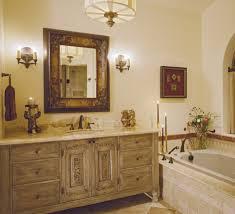 antique bathroom art decor ideas with nice rustic furniture