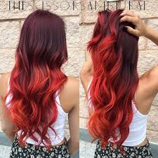 Frisuren Lange Haare Rot by Bordeauxrot Ist Eine Tolle Farbe Für Den Herbst Schau Dir Schnell