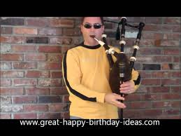 Scottish Meme - scottish happy birthday bagpipes without the cheesy bit at the end