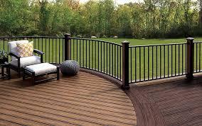 trex signature railing great for outdoor deck hand railing trex