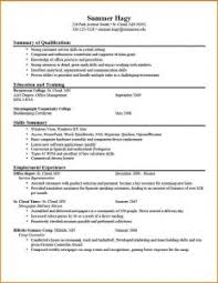 examples of resumes 81 inspiring writing sample for graduate