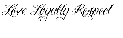loyal lettering tattoo design real photo pictures images and