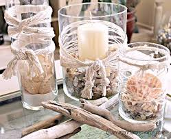 driftwood centerpieces diy decor ideas for fishing net