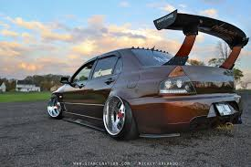 bagged wide mitsubishi evo 5 mmc evolution pinterest evo