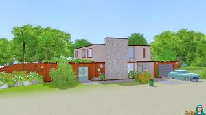 Mid Century House by Mid Century Home Kauhale Makai Snw Simsnetwork Com