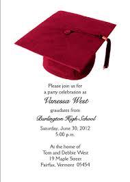graduation party invitation wording sles of graduation party invitations graduation trendy