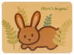 wood cards wanart