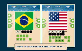World Flags Quiz Guess The Country World Flag Logo Quiz Game App Ranking And