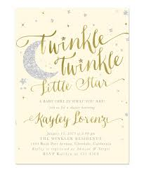 twinkle twinkle baby shower invitations twinkle twinkle girl or boy baby shower invitation