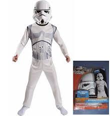 star wars storm trooper child costume role play set size medium