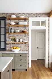 green kitchen cabinets with white countertops kitchen with gray cabinets why to choose this trend decoholic