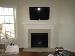corner fireplace and tv placement modern corner fireplace designs
