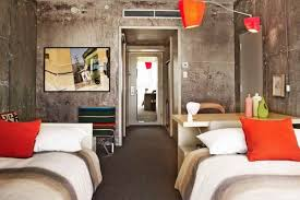 interior concrete walls how an l a hotel is making bare concrete walls look cool curbed
