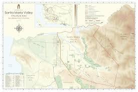 santa map maps santa barbara vintners