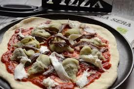 cuisine artichaut cuisson pizza aux artichauts et anchois hum ça sent bon