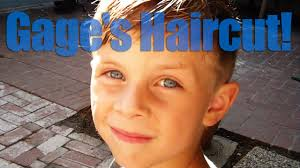 youtube young boys getting haircuts gage s little hipster haircut youtube