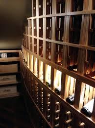 closets building wine cellar racks wood wine rack diy simple