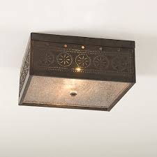 punched tin lighting fixtures country wares country lighting home decor
