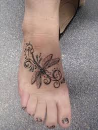 amazing dragonfly wrist tattoo real photo pictures images and