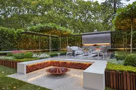 Firepit Seating Outdoor Pit Seating Ideas That Blend Looks And Function In