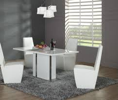 White Dining Table And Coloured Chairs Edgy White Chairs For Dining Room Ideas With Stylish Dining
