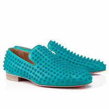 men christian louboutin rollerboy spikes riviera leather studded
