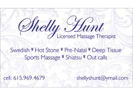 Sports Massage Business Cards Nashville Business Card Design Dls Graphics