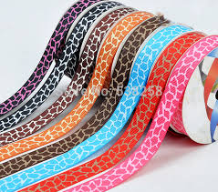100yard roll 5 8 16mm single printed animal design grosgrain