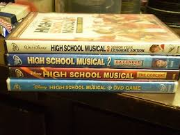 high school high dvd 4 disney high school musical dvd lot high school musical 1 2 3