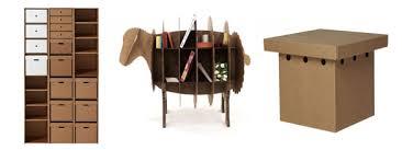 arredo in cartone eco design karton progetta eccezionali mobili in cartone