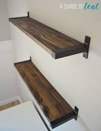 Wooden Shelves Pictures by Best 25 Shelf Brackets Ideas On Pinterest Wood Shelf Shelves