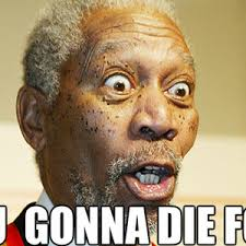 Pissed Off Face Meme - morgan freeman r b pissed off at you by agentsmith meme center