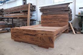 Bed Frames Au Recycled Timber Bed Frames Tim T Design