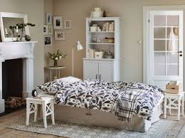 Ikea Bedroom Setups A Living Room In A Holiday Cottage With A Beige Sofa Bed Made With