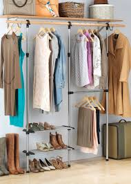 Rubbermaid Complete Closet Organizer Whitmor Modular Custom Closet Kit Walmart Com