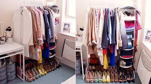my open closet wardrobe interior youtube