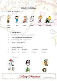 4 free esl peanuts worksheets