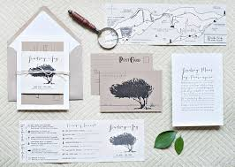 wedding invitation suites lindsay s whimsical nature inspired wedding invitations