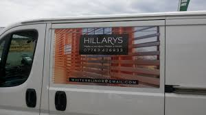 the green i signs blog magnetic van panels for hillarys blinds
