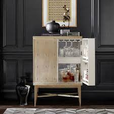 Gold Bar Cabinet Beige Bar Cabinet