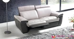 canap de relaxation canape canape cuir electrique relax 3 places canape cuir