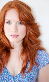 hair color for over 40 with blie eyes red haired blue eyes dimpled chin funny how at the end of the
