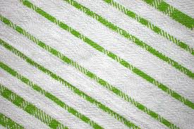 free picture dishcloth lime green color diagonal stripes lines